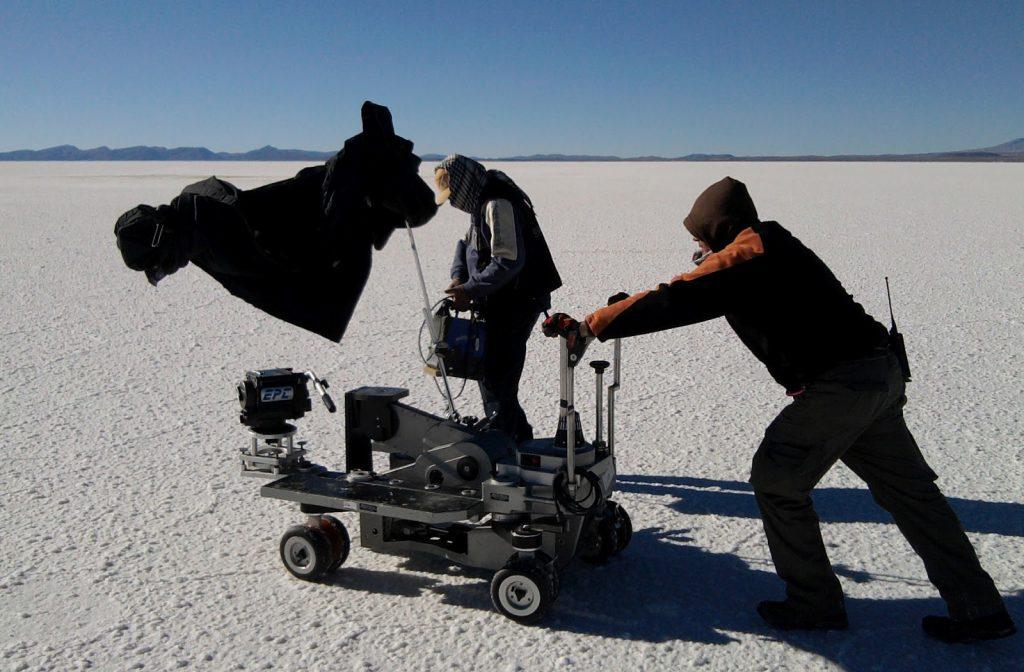ayudante de cámara